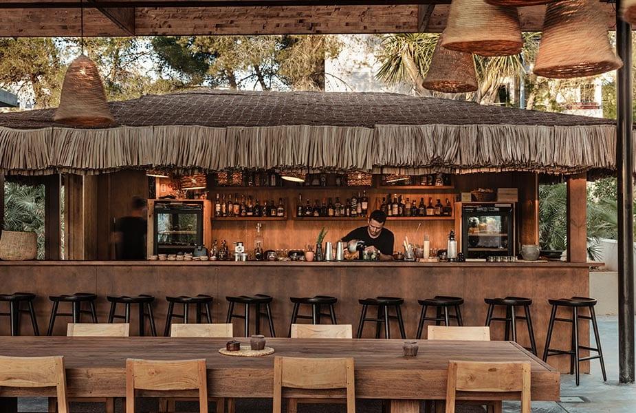 Bar voor cocktails en drankjes