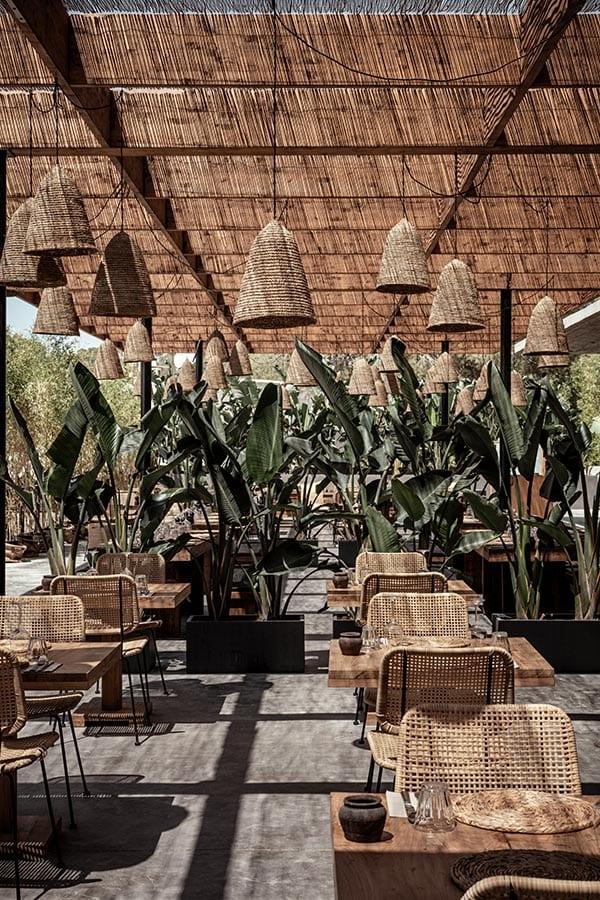 Terras van OKU Ibiza