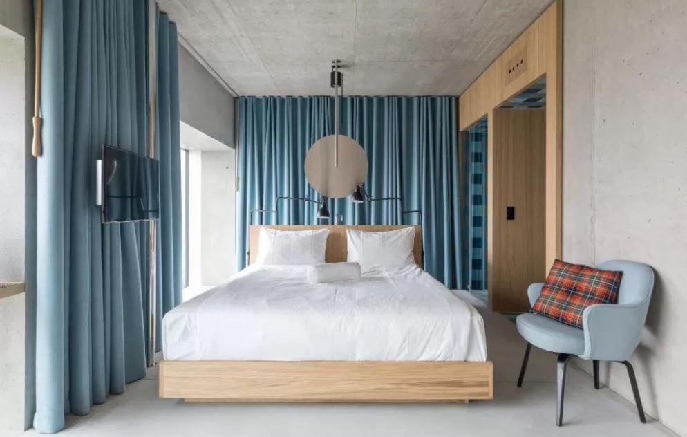 Interieur van een kamer in Placid Hotel Design Lifestyle Zurich