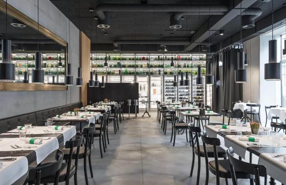 Restaurant van Placid Hotel Design Zurich