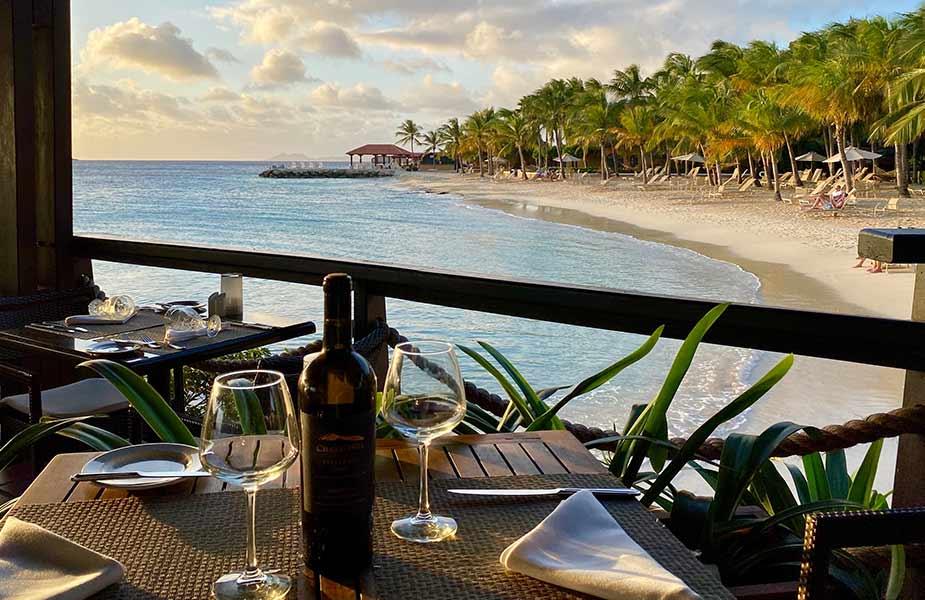 Genieten van het restaurant La Balandra op Bonaire