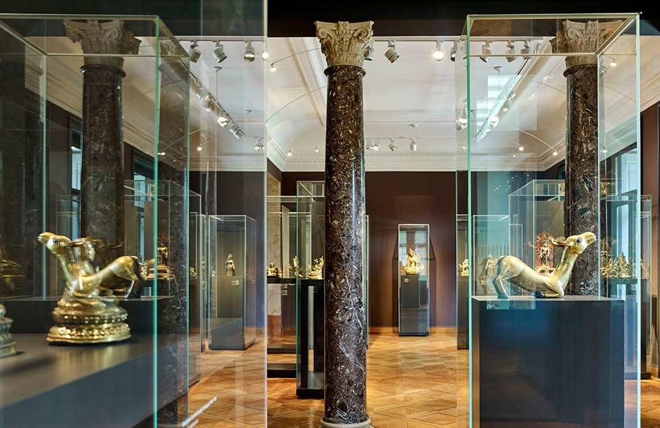 Galerij in het Rietberg Museum in Zurich