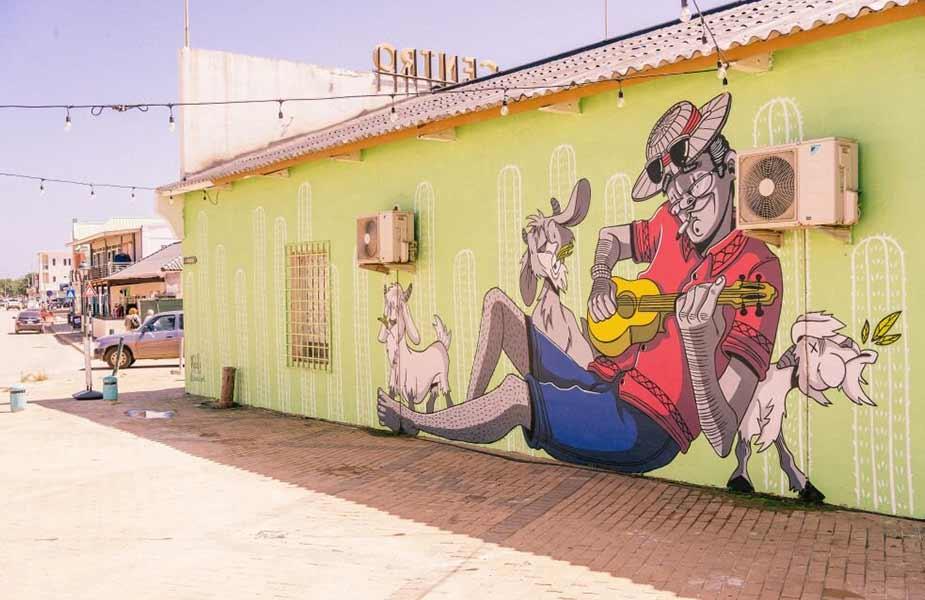 Street Art project in Bonaire