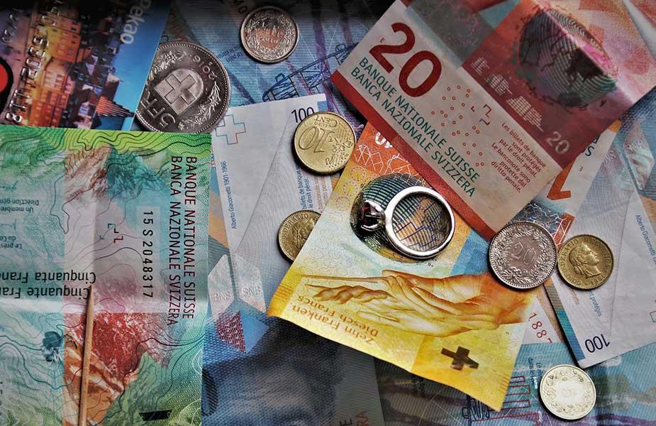 Zwiters geld, de Zwiterse Frank