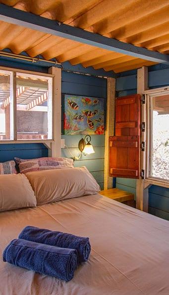 Auriga Ecolodge Bonaire slaapkamer