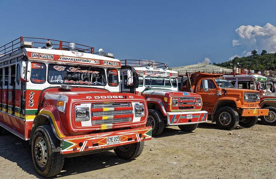 Veilig reizen door Colombia met bussen van het openbaar vervoer