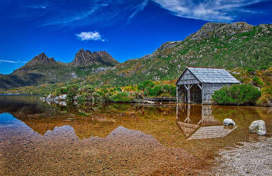 Bergen en natuur in Cradle Mountain