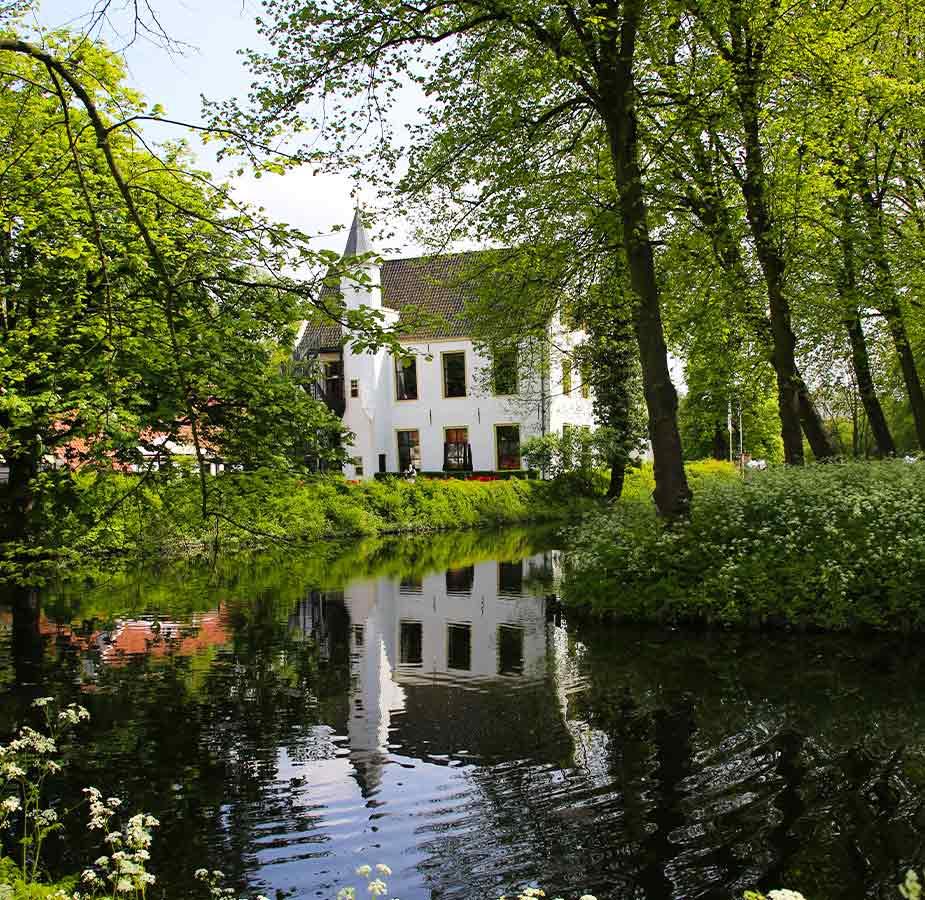 Kasteel Dorpsdijk op IJsselmonde