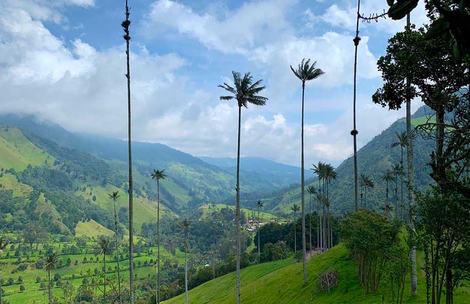 Mooie natuur in Colombia