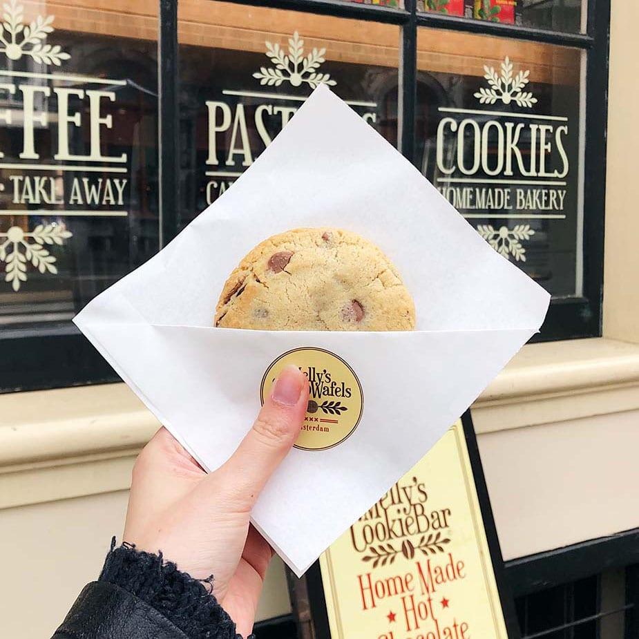 Melly's Cookiebar lekkerste koekjes in Amsterdam