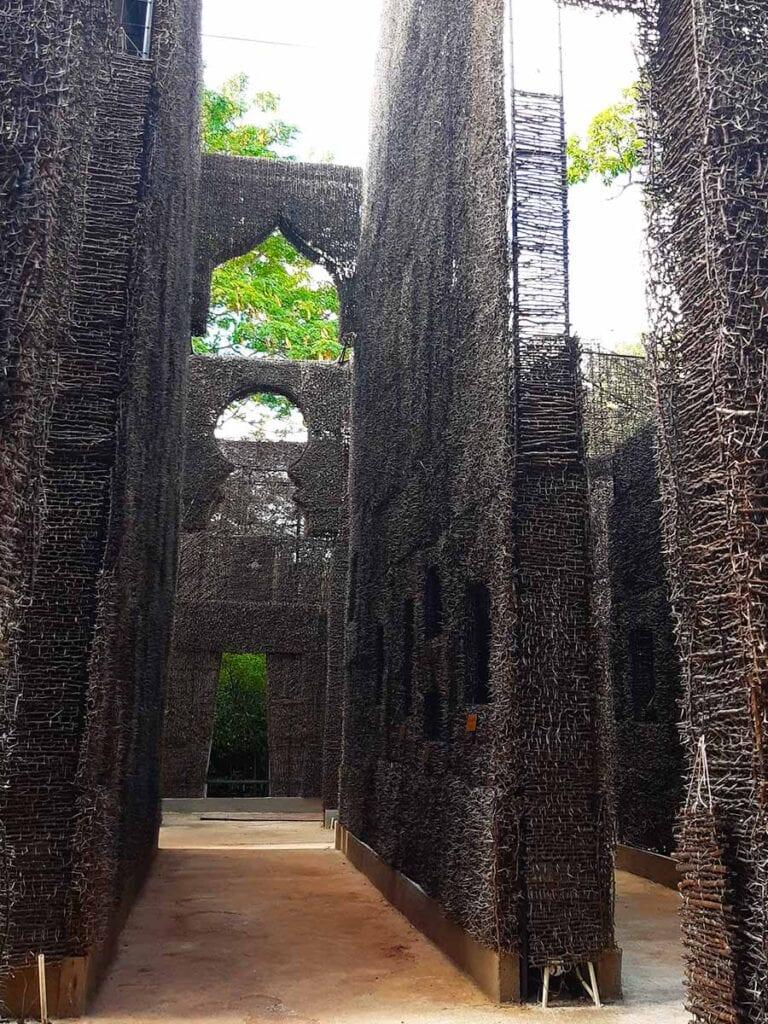 De kathedraal op Curacao van binnen