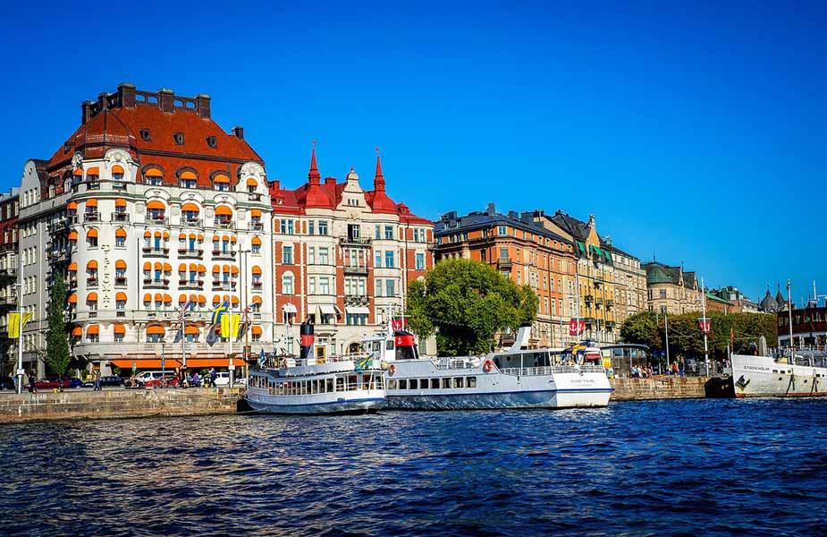 Gevels in Stockholm