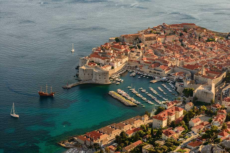 Dubrovnik een van de mooiste steden in Kroatië