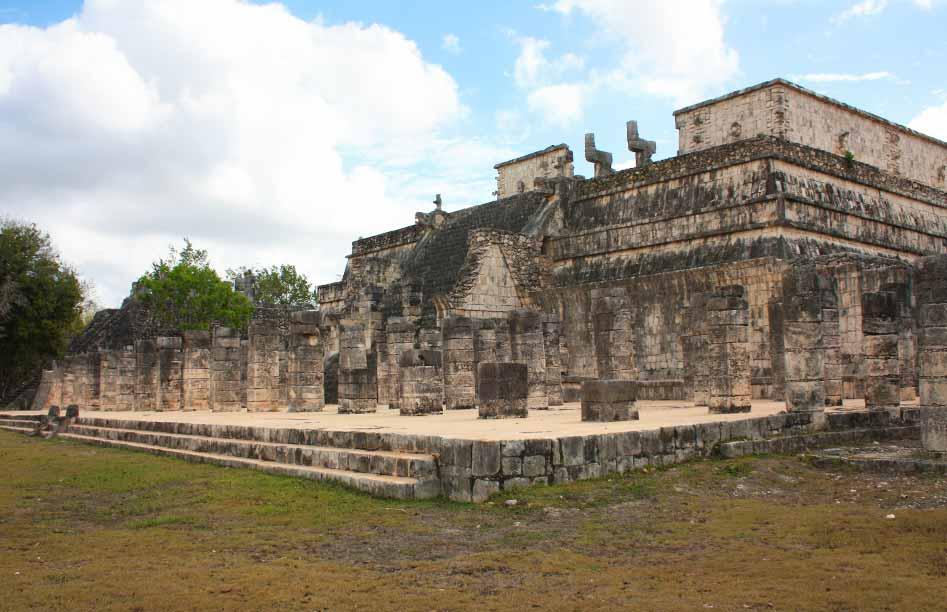 Maya tempelcomplex van Chichen Itza