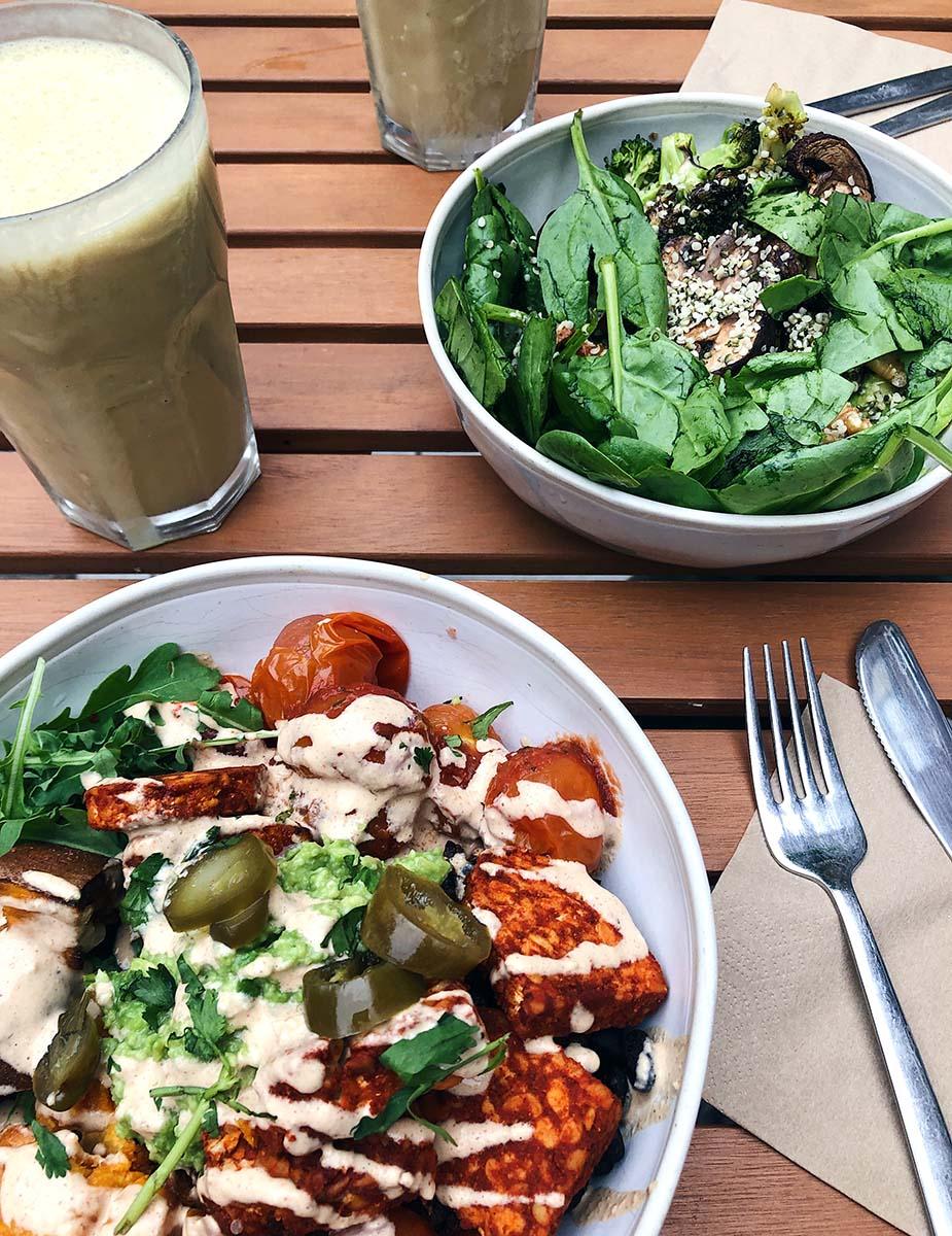 oliver green vegan eten amsterdam
