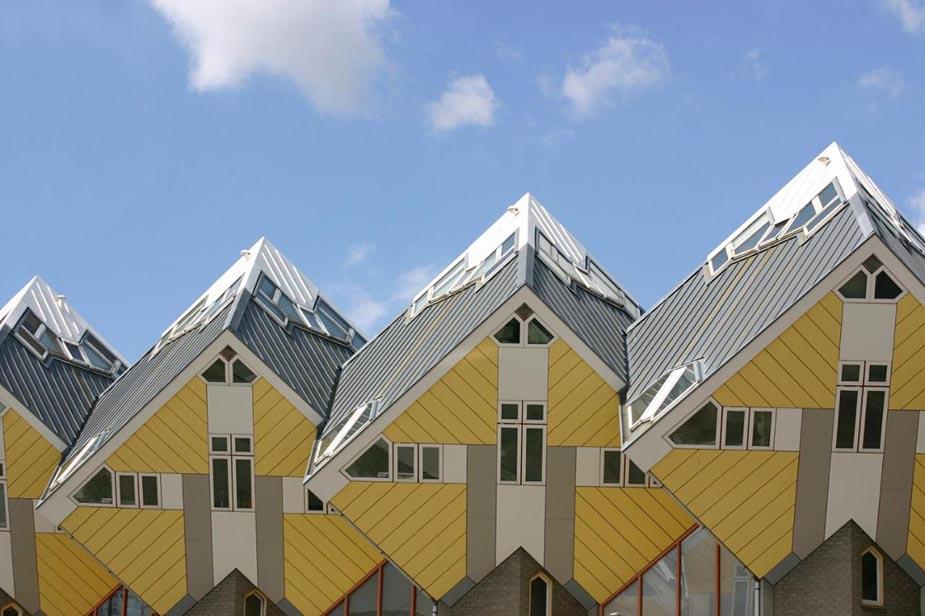 Stayokay Hostel Rotterdam kubuswoningen bijzondere hotels nederland