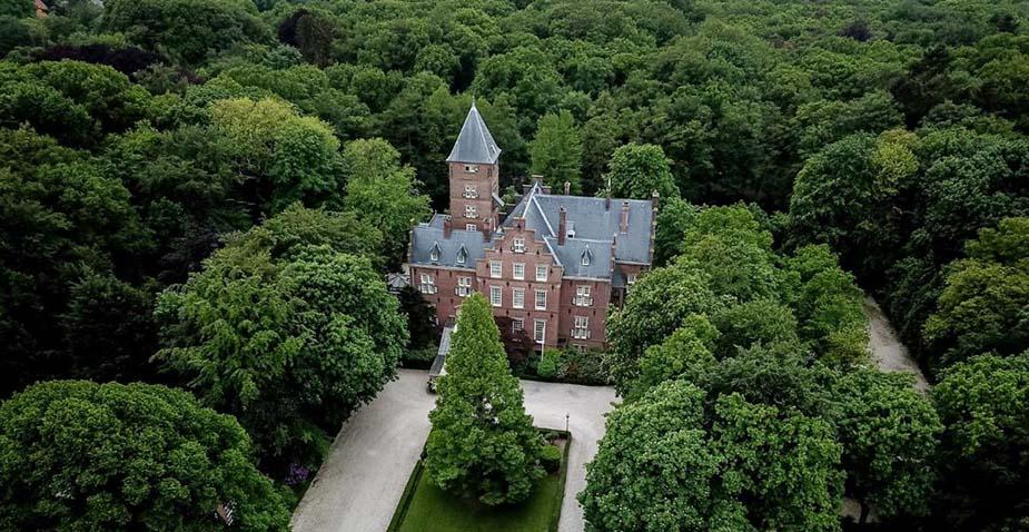 Kasteel de Wittenburg bijzondere hotels nederland