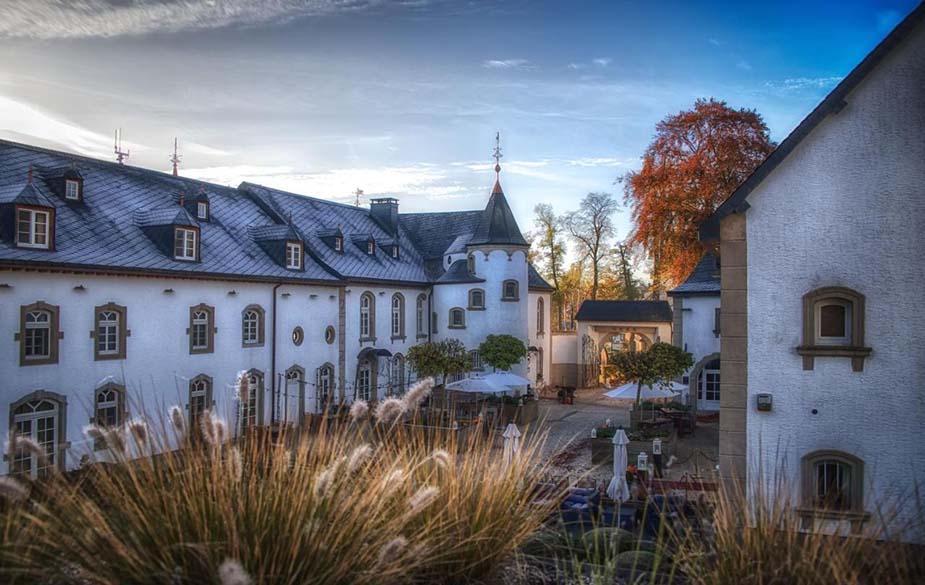 Chateau d'Urspelt bijzondere overnachting in Luxemburg