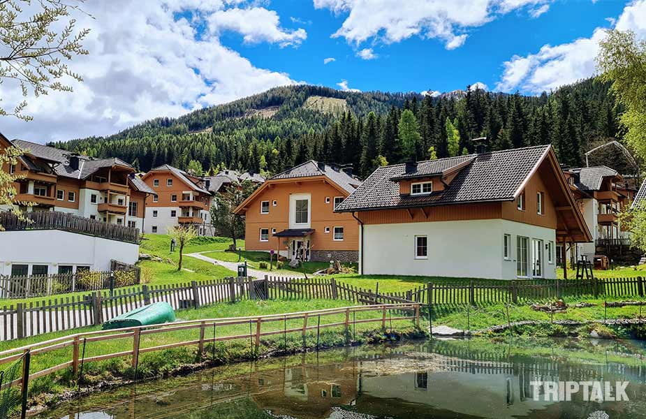 Het vakantiepark van Landal in Bad Kleinkirchheim