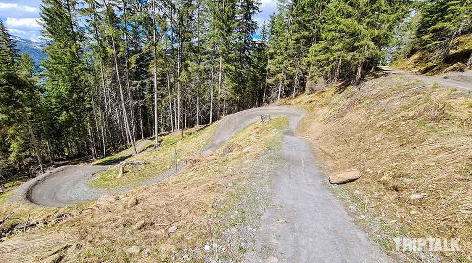 Een prachtig pad voor mountainbiken in Bad Kleinkirchheim