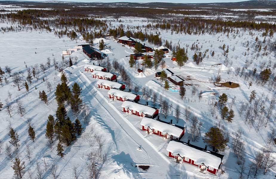 Aurora Lodge in Lapland