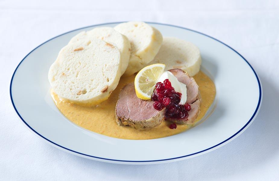 Svickova, een typisch gerecht wat je kan eten in Tsjechie