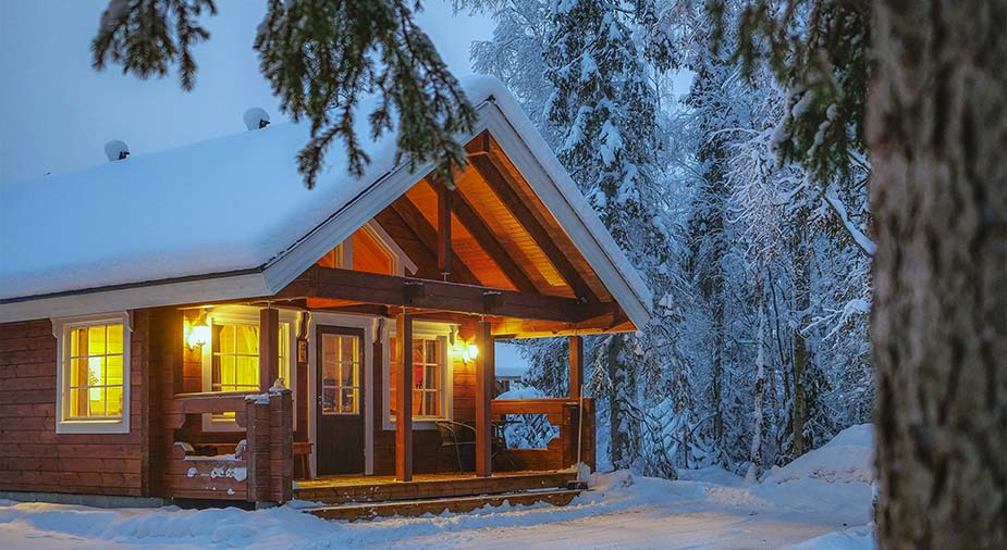 Slapen in het Harrinvai Hotel Lapland