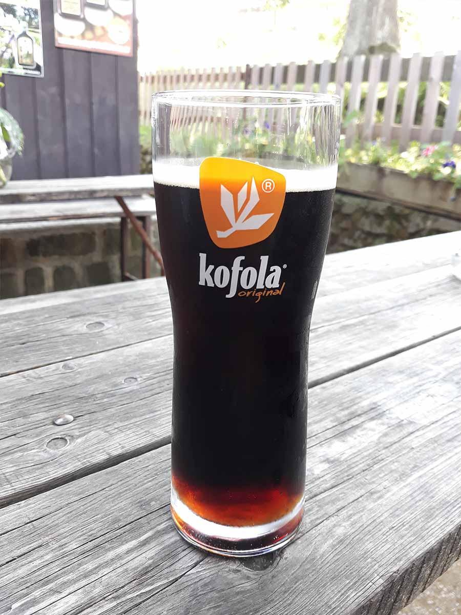 Het drankje Kofola uit Tsjechie