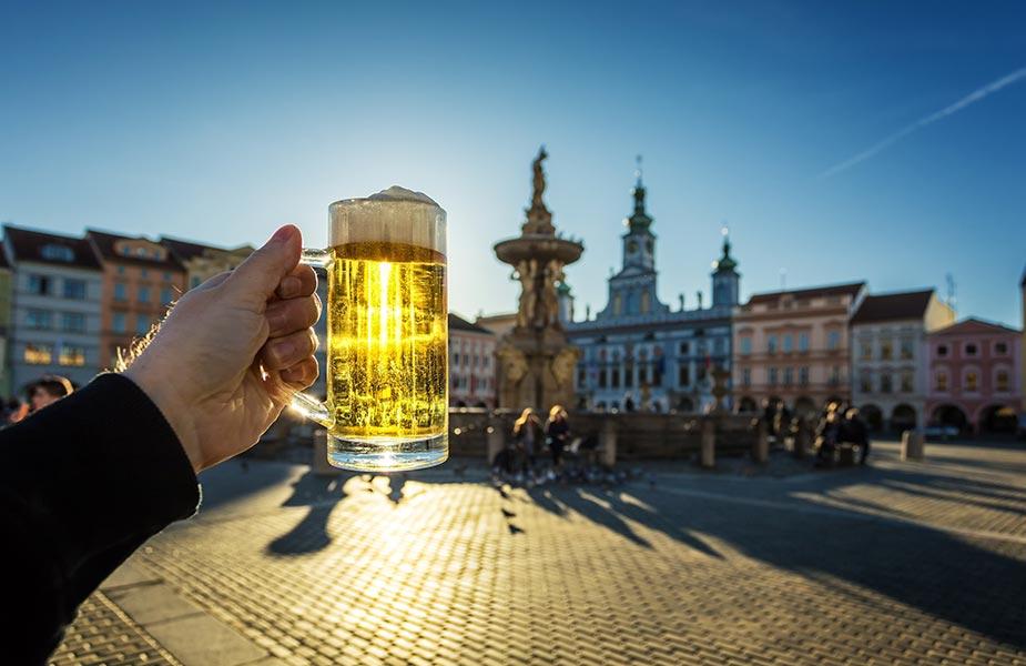 Tsjechisch bier of pils