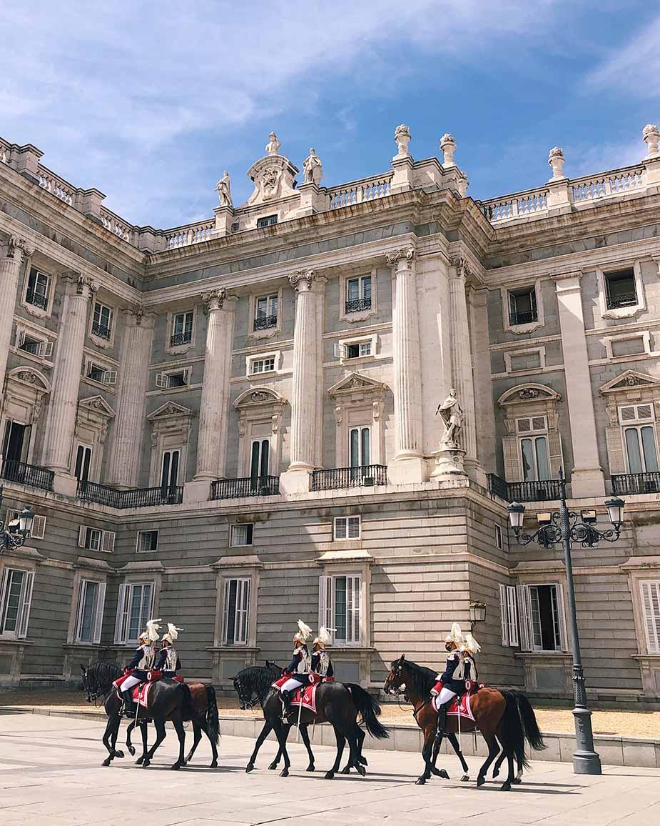 koninklijke paleis madrid