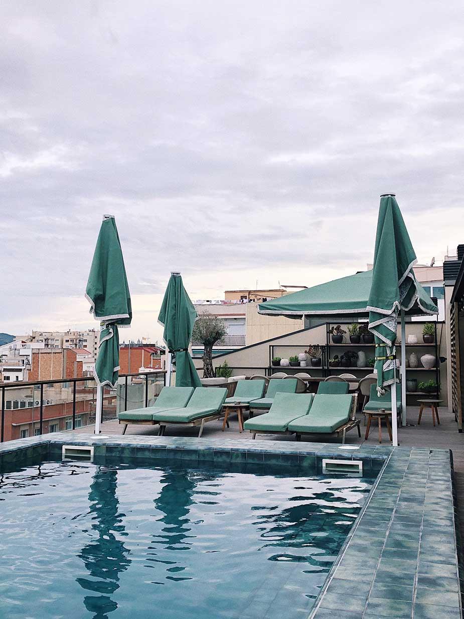 hotel zwembad barcelona